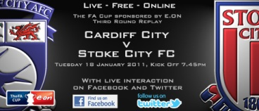 Cardiff vs. Stoke FAC 3rd round replay 2011